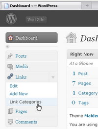 wordpress-change-blogroll-into-links