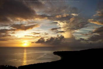 The Sunshot Project: the most spectaculair sunset i've seen in my entire life at Cas Abao Curacao