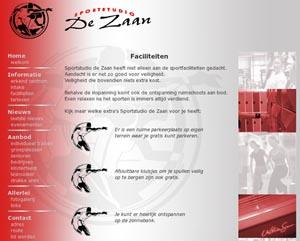 website sportstudiodezaan.nl